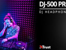 DJ-500 PRO | DJ HEADPHONES (Trust International)